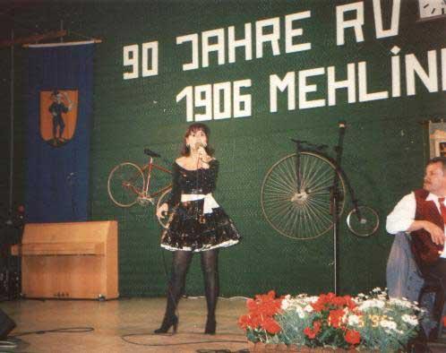 Tina York beim neunzigsten Jubiläum